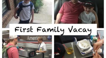 First Family Vacay: First Flight