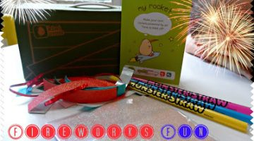 Make Your Own Fireworks Fun with Monthly Kids Craft Program Kiwi Crate