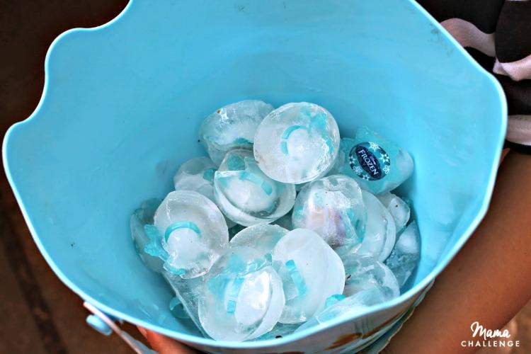 Frozen-Ice-Rings