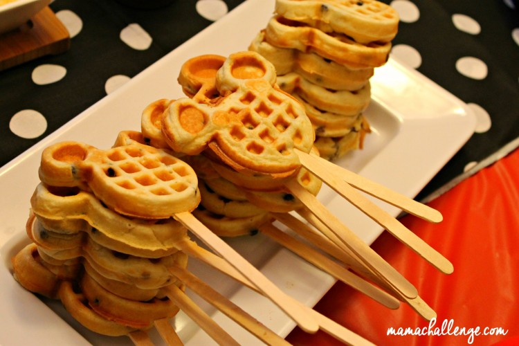 Mickey Mouse Brunch Party With Waffle Bar DisneySide