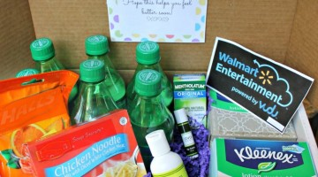 Being Sick Blows: Get Well Care Package {Printable}