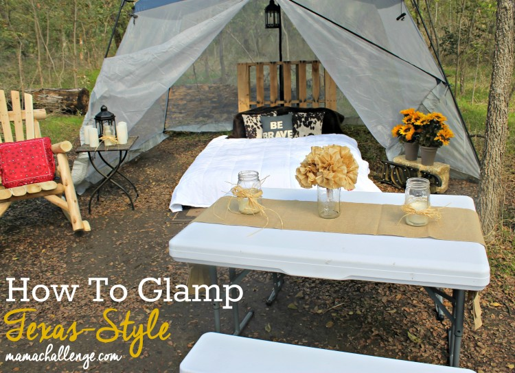 How To Glamp