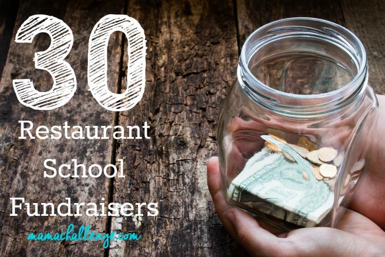 Restaurant School Fundraiser