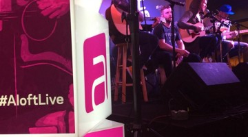 Rockin' with #AloftLive Summer Tour