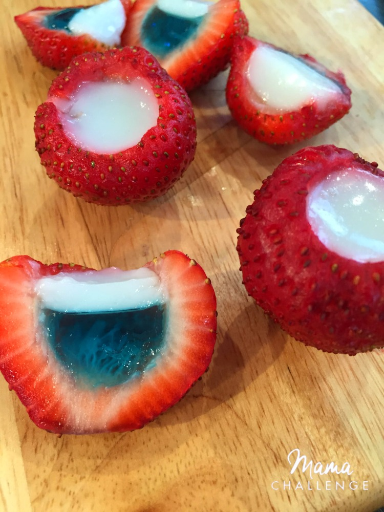 Strawberry Jello Bites