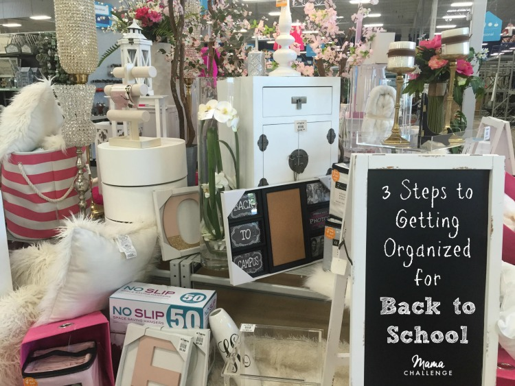 Steps to Getting Organized for Back to School
