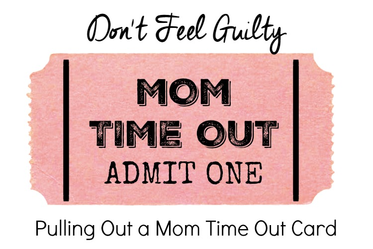 Mom Time Out Card