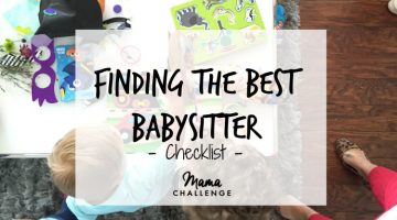 Finding the Best Babysitter Checklist {Giveaway}