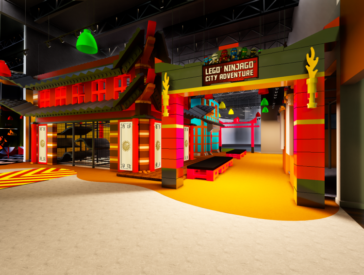 Ninjago City Adventure Rendering 2