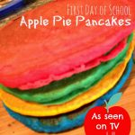Healthy Apple Pie Pancakes with Go Go squeeZ