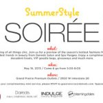 You're Invited to Learn the Hottest Looks for Texas' Hottest Season with Summer Style Soiree TONIGHT