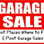 The Best Places to Find + Post Garage Sales