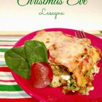Bring Joy to the Holiday Table with Christmas Eve Lasagna {Recipe}