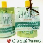GoGo squeeZ Valentines Thanks for Being Awesomesauce