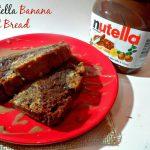 Celebrate World Nutella Day with Easy Nutella Banana Nut Bread {Recipe}