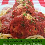 Get Rolling Now for National Meatball Day, March 9 with the Best. Meatballs. Ever.  {Recipe + Giveaway}