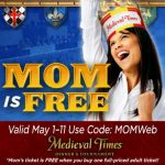 Make Mom Feel Like a Queen with Medieval Times {Free Admission}