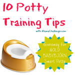 Get Thee to the Golden Potty: Potty Training Tips for Success {Baby BJORN Giveaway}