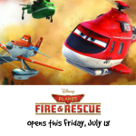 Flying in Friday – Disney's Planes: Fire & Rescue {$5 Movie Ticket}