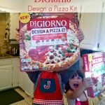 Pizza Party in a Box with NEW DiGiorno Design a Pizza Kit
