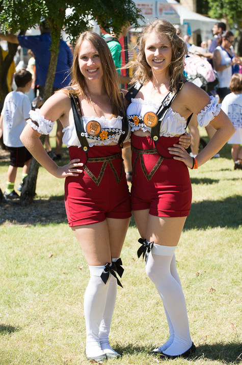 This is G-rated, folks. (Photos from Addison Oktoberfest PR.)