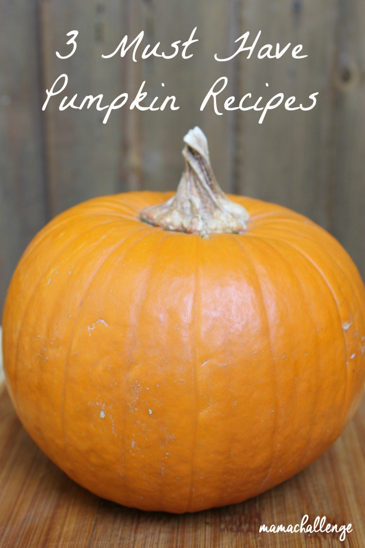 3 Must Have Pumpkin