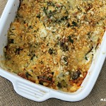 Brussels Sprouts, Broccoli and Cauliflower Casserole