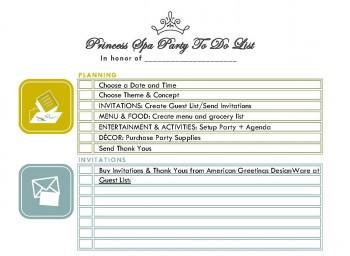 PrincessSpaPartyChecklist#DisneyBeauties#Cbias#Shop