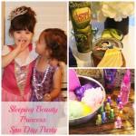 Sleeping Beauty Princess Spa Day Party