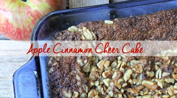 Scents of the Holidays: Apple Cinnamon Cheer™ Cake