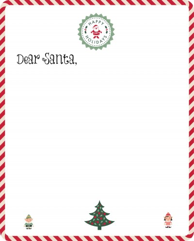 image about Free Printable Letter From Santa Template referred to as No cost Santa Letter versus the North Pole Absolutely free Printable