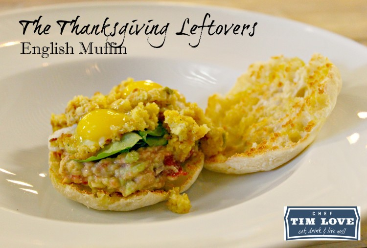 Thanksgiving-Leftovers-English-Muffin-Tim-Love