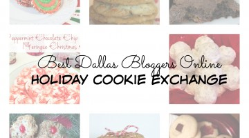 Best Dallas Bloggers Online Holiday Cookie Exchange