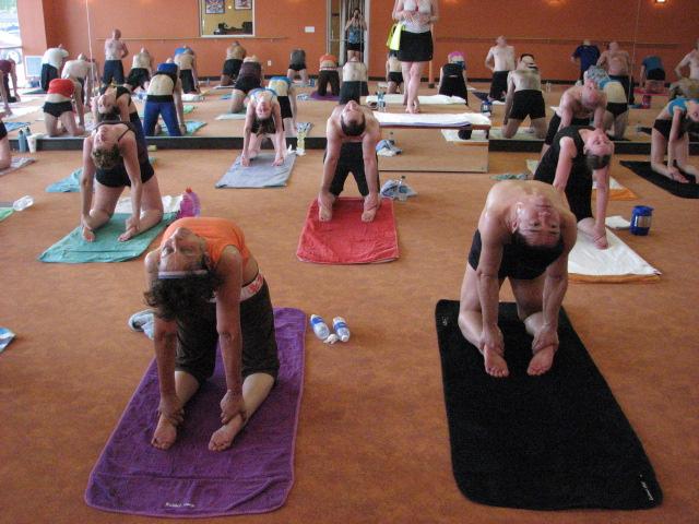 Bikram-Yoga-Pose