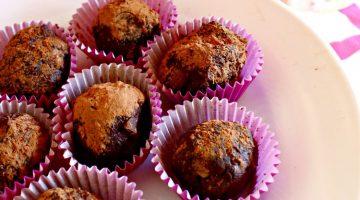 Healthy Avocado Cappuccino Truffles