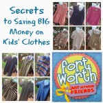 Secrets to Saving Money on Kids' Clothes