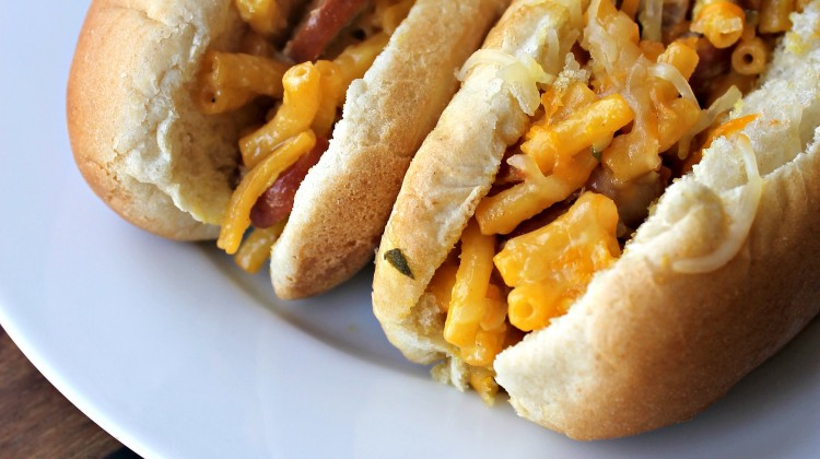 Twisted Mac n Cheese Dogs
