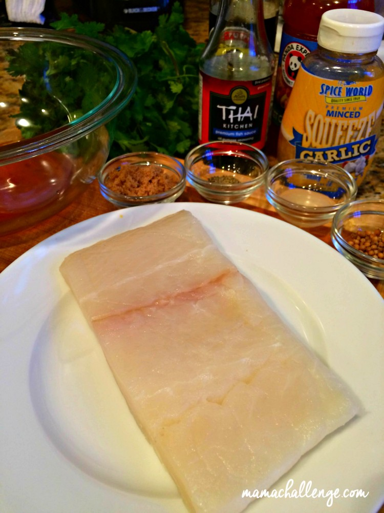 Thai-Style-Halibut-Ingredients - MamaChallenge-Market-Street
