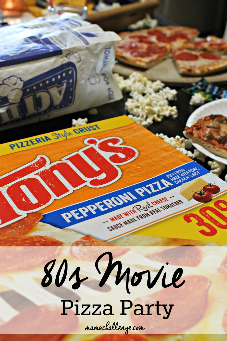 80s Movie Pizza Party #BigPizzeriaTaste #PMedia #Ad