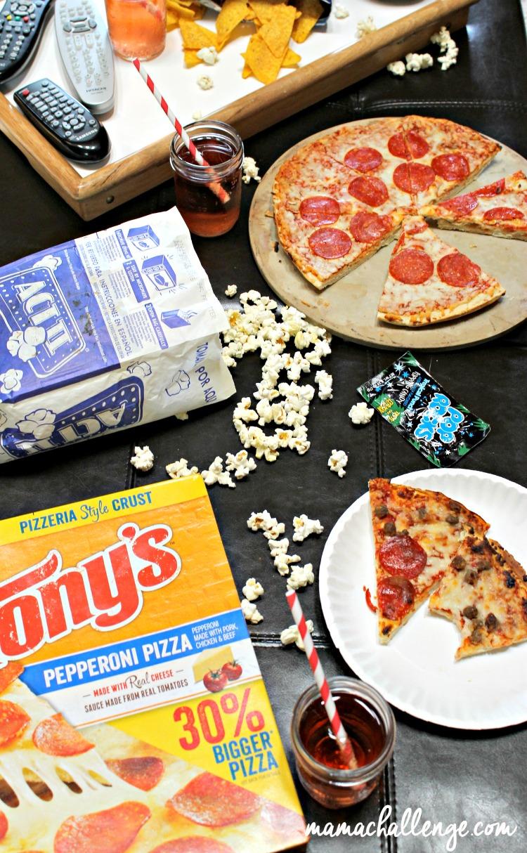 80s Movie Pizza Party #BigPizzeriaTaste #PMedia #Ad