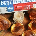 Texas Popovers with Strawberry Jalapeno Butter