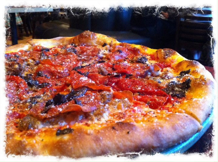 SPIN! Neapolitan Pizza hand tossed pizza