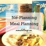 No-Planning Meal Planning