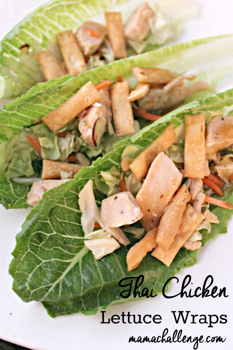 Thai-Chicken-Lettuce-Wraps
