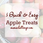 Five Quick and Easy Apple Treats