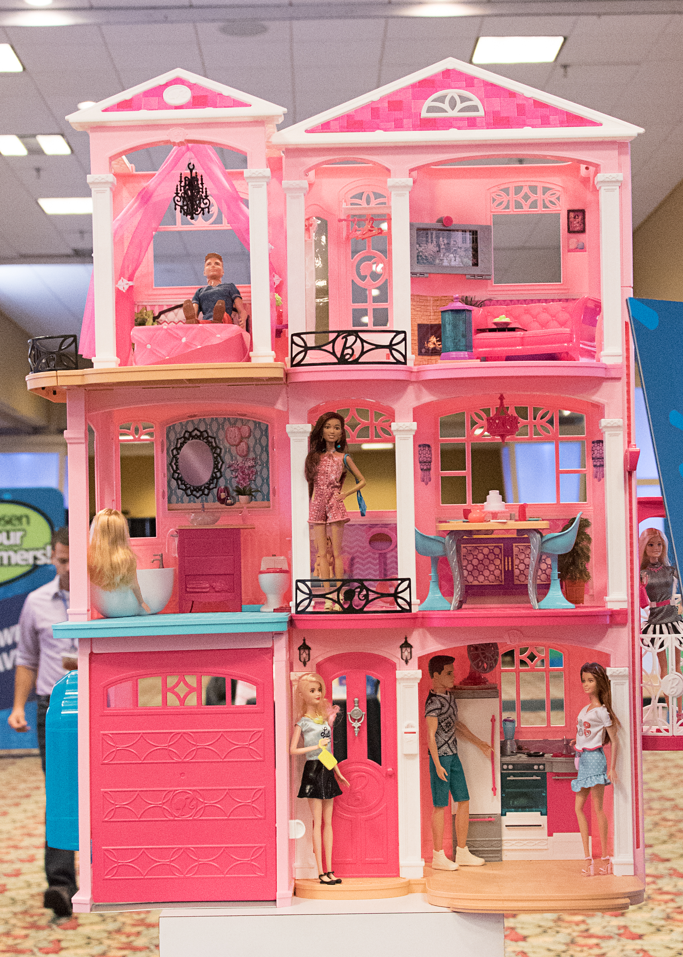 barbie dream house instructions 2015