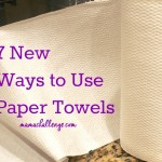 7 New Ways to Use Paper Towels