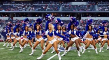 Brunch & Bust a Move with the Dallas Cowboys Cheerleaders