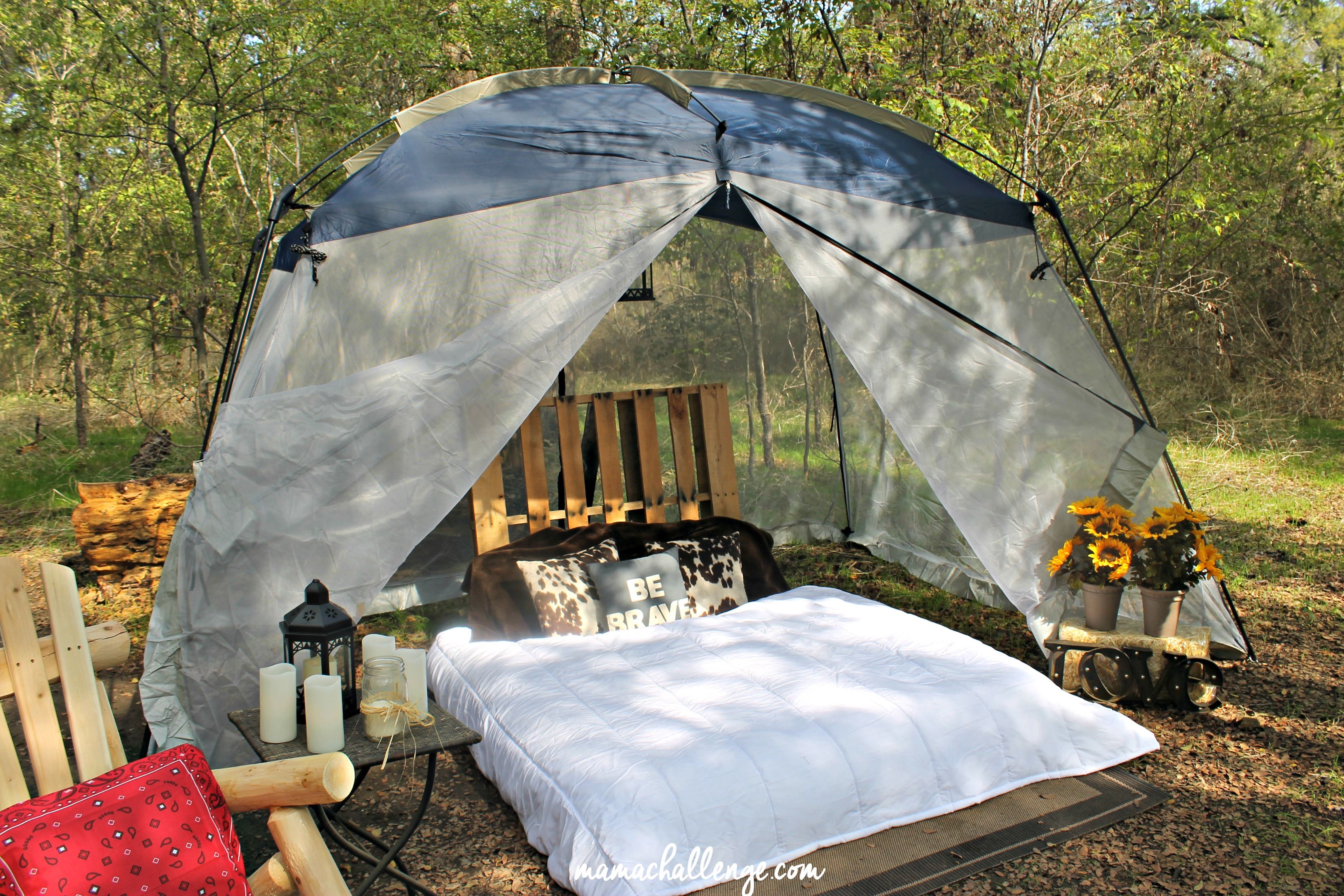 Glamping-Bed