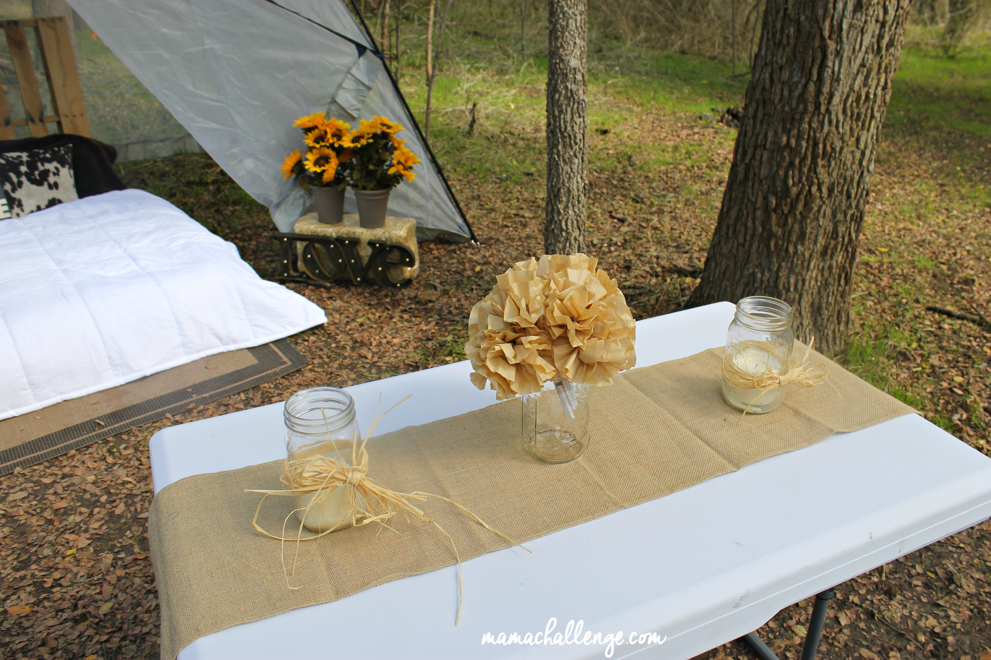 Glamping-Table